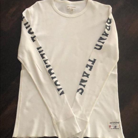 True Religion Other - True Religion Long Sleeve White Shirt SZ S